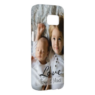 Love Overlay | Kids Photo | Personalized Samsung Galaxy S7 Case