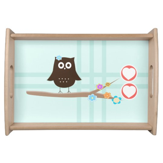 Love Owl Serving Trays