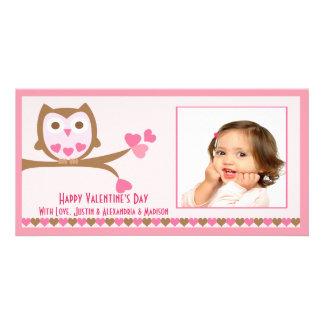 Love Owl Valentine's Day Card