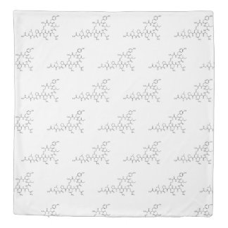 love oxytocin chemical formula chemistry element s duvet cover