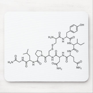 love oxytocin chemical formula chemistry element s mouse pad