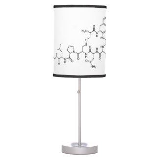 love oxytocin chemical formula chemistry element s table lamp