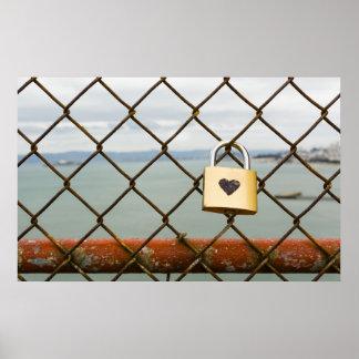love padlock poster