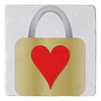 Love padlock trivet