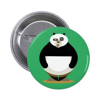 Love Panda 2 Inch Round Button