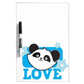 LOVE panda Super cute Kawaii! NP Dry-Erase Whiteboard