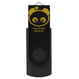 Love Panda® Swivel USB 2.0 Flash Drive