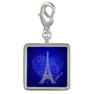 Love Paris | Blue Vintage Gifts Charm