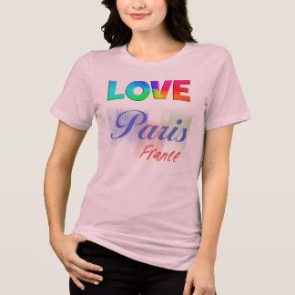 Love Paris France - Ladies T-shirt
