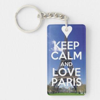 Love Paris Keychain