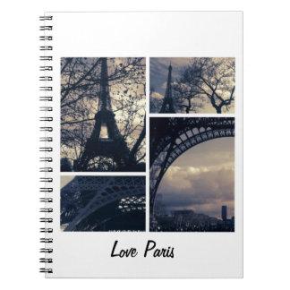Love Paris notebook & design