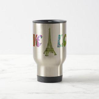 Love ParisTravel Mug