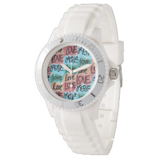 Love Patchwork Watch