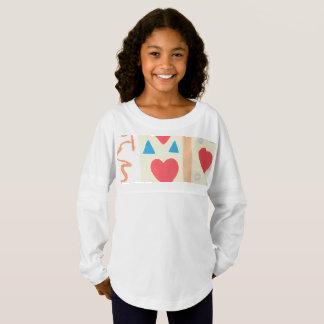 Love Path Custom Girls' Spirit Jersey Shirt