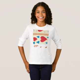 Love Path Girls' Basic Long Sleeve T-Shirt