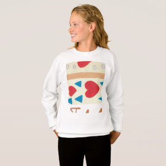 Love Path Girls' Hanes ComfortBlend® Sweatshirt