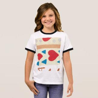 Love Path Girl's Ringer T-Shirt