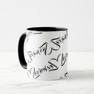 Love Patterned Design Coffee Mug