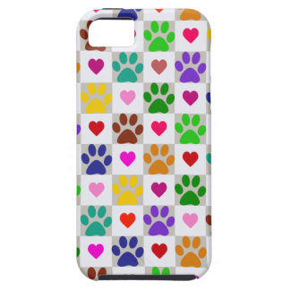 LOVE PAWS iPhone 5 Case-Mate Case