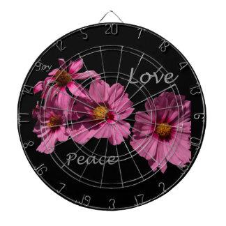 Love Peace and Joy Dartboard