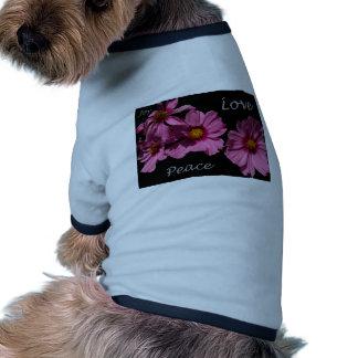 Love Peace and Joy Pet T Shirt