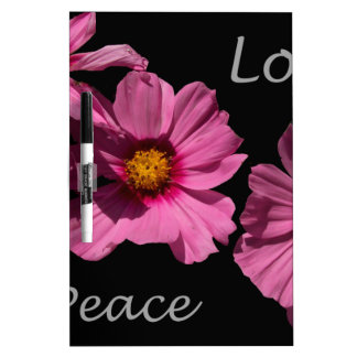 Love Peace and Joy Dry-Erase Boards