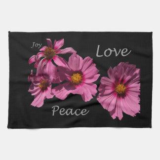 Love Peace and Joy Towel