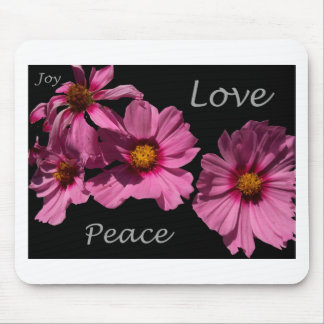 Love Peace and Joy Mouse Pad
