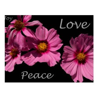 Love Peace and Joy Postcard