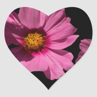 Love Peace and Joy Heart Sticker