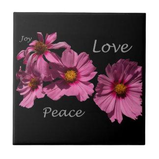 Love Peace and Joy Tiles