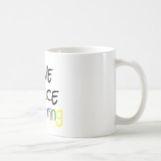 Love Peace Coloring Coffee Mug
