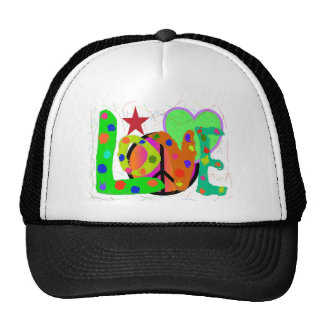 Love PEACE & Harmony T-Shirts and Gifts Trucker Hat