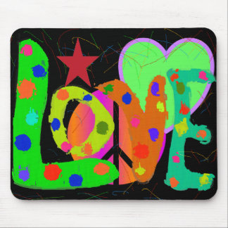 Love PEACE & Harmony T-Shirts and Gifts Mouse Pad