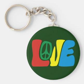Love Peace hippie Porte-clé