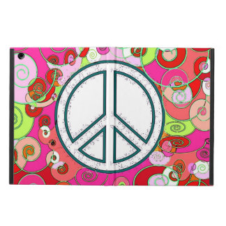 Love & Peace Holiday & New Year Abstract Art Cover For iPad Air