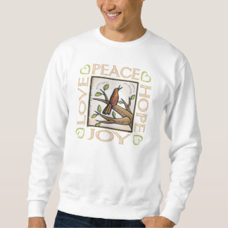 Love, Peace, Hope, Joy Sweatshirt