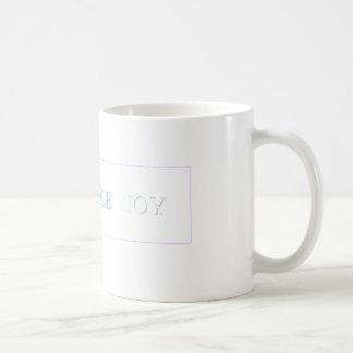 LOVE   PEACE   JOY - Customized Mug
