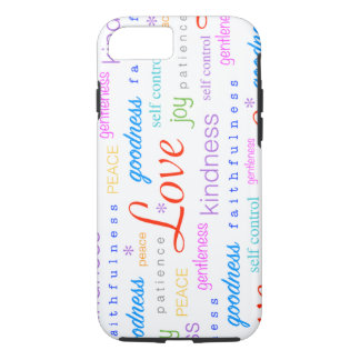 Love PEACE Joy Fruit of the Spirit Colorful iPhone 7 Case