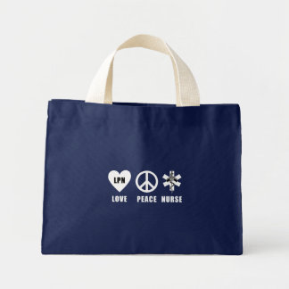 Love Peace LPN Mini Tote Bag