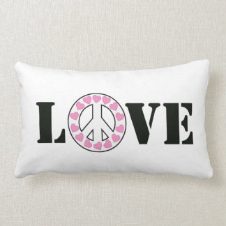 Love & Peace Lumbar Pillow