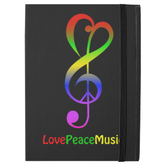 Love peace music hippie treble clef