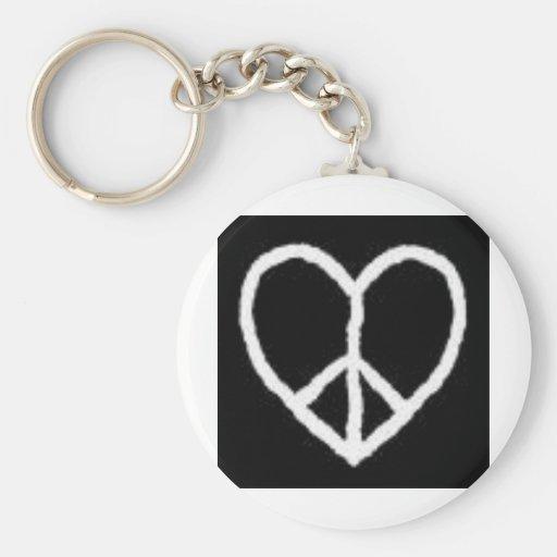 love&peace porte-clef