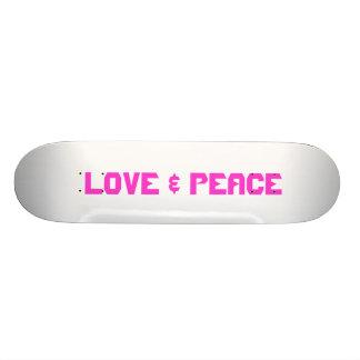 LOVE PEACE CUSTOM SKATE BOARD