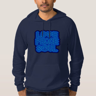 LOVE PEACE SOUL in BLUE Pullover