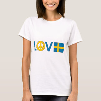 Love Peace Sweden T-Shirt