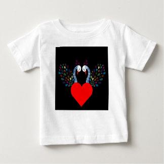 love pecock 3 baby T-Shirt