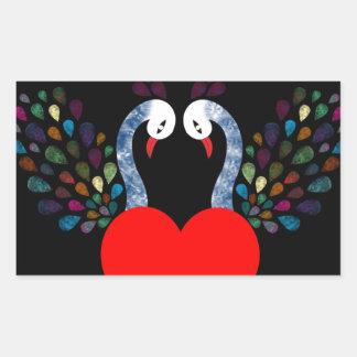 love pecock 3 sticker