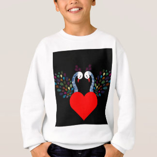 love pecock 3 sweatshirt