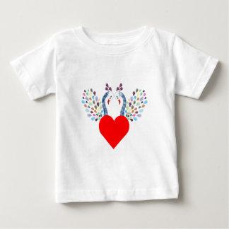 love pecock baby T-Shirt
